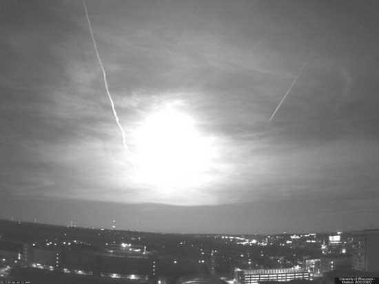 meteoro Estados Unidos, 2010 - explosión