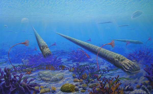 El Océano en el ordovícico