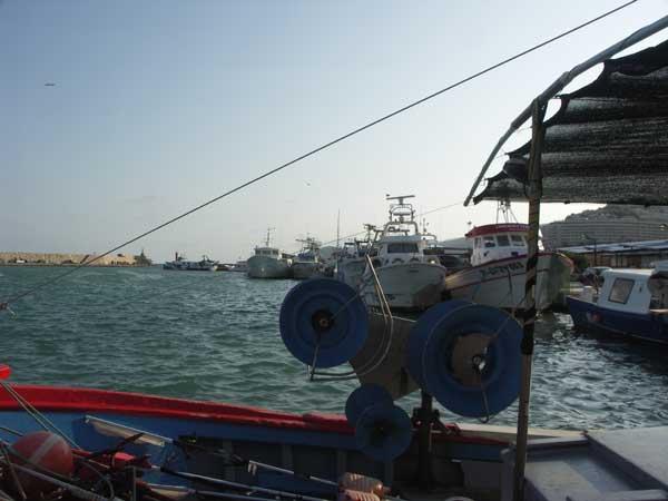 Peñíscola, puerto pesquero