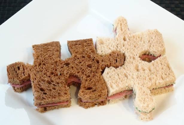 puzzle sándwich