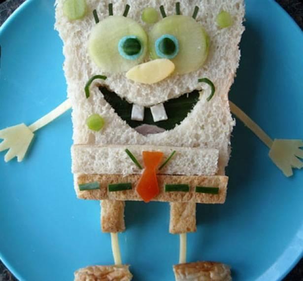 sándwich Bob Esponja