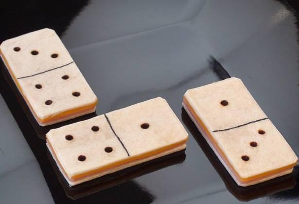 sándwich del dominó