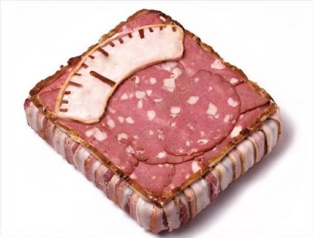 sándwich escala de bacon