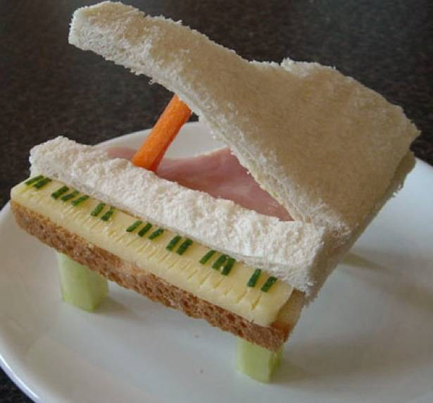 sándwich piano