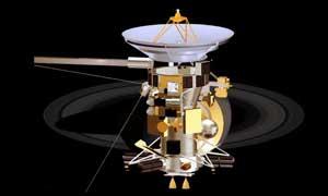 sonda espacial Cassini, dibujo