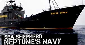 Steve Irwin, Neptune's Navy