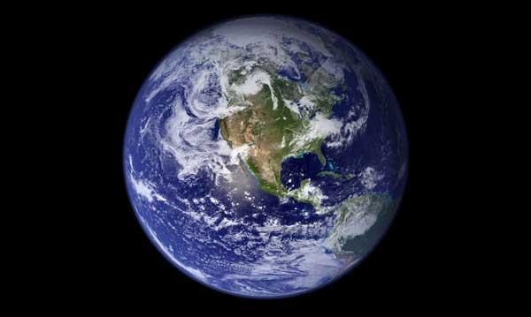 La Tierra desde el espacio, NASA
