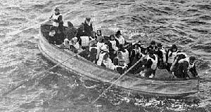 Titanic, bote salvavidas