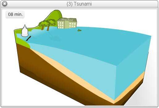 tsunami animado