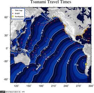 tsunami progreso en horas