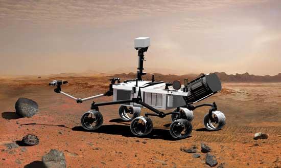 vehiculo para vacaciones en Marte