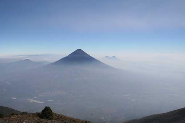 volcán Pácifico Sur