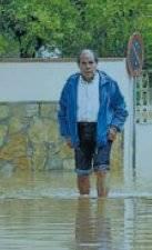 inundaciones en Peñíscola