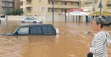 inundacion Peñismar, Peñíscola
