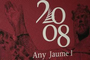 logotipo exposición 800 aniversario jaime I
