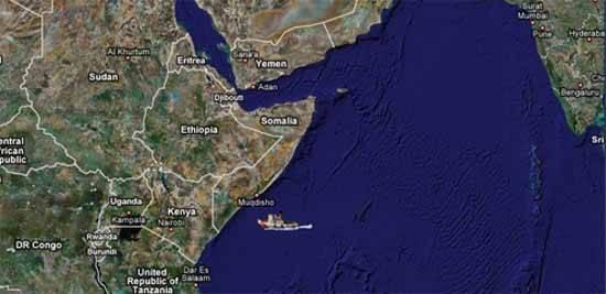 mapa somalia lugar secuestro