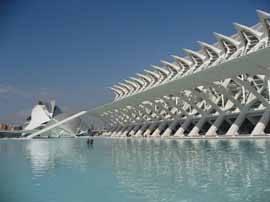 museum and hemisferic, Valencia