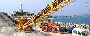 obras del dique Es Botafoc, Ibiza