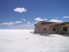 Hotel Luna Salada en el Salar de Uyuni (Bolivia)