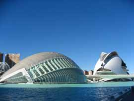palau de les artes y hemisferic, Valencia