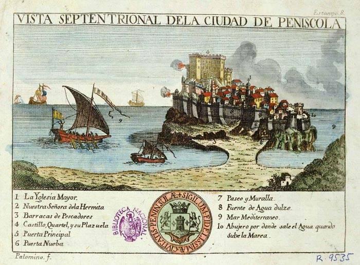 Peniscola año 1786