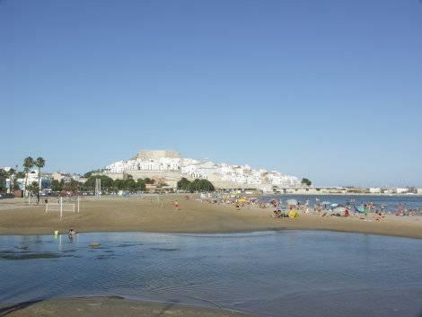 playa sur Peñíscola