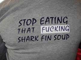 alto a la maldita sopa de tiburón