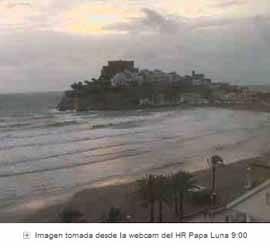 webcam peñíscola temporal diciembre 2008