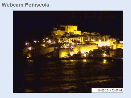 webcam de Peñíscola en directo