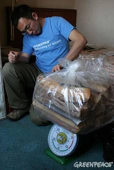 carne de ballena de contrabando
