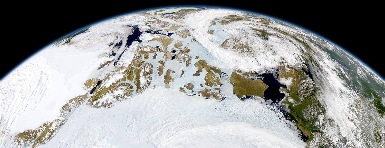 capa nieve artico Video   ¿Cómo es pasarse el día volando sobre el Ártico? [Ciencia]