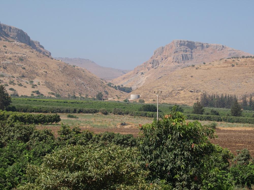Ginosar Israel  city photo : valle de Ginosar, Israel