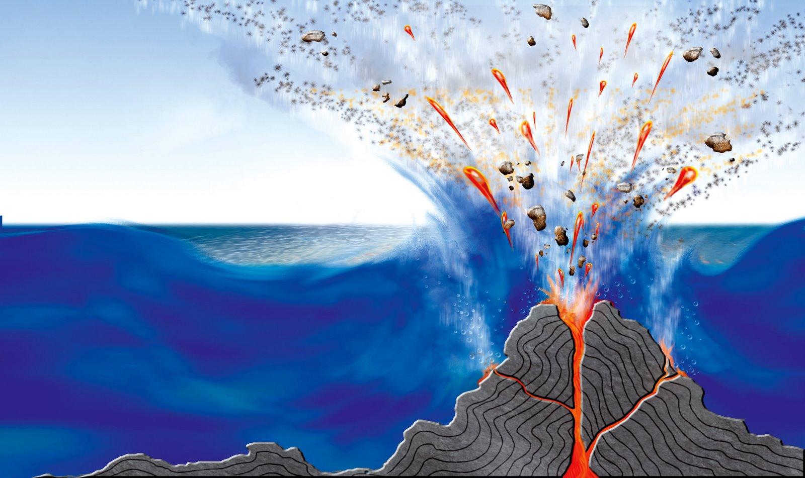 Resultado de imagen de volcanes submarinos