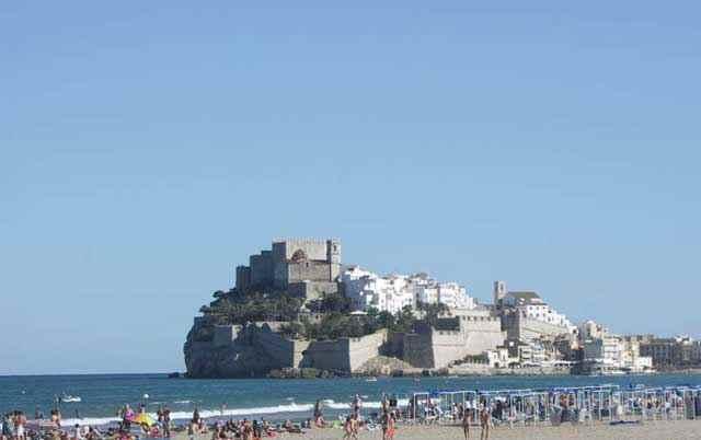Peñíscola desde la Playa Norte