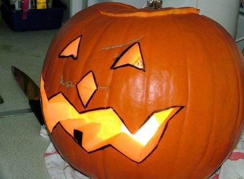 C mo hacer una calabaza para halloween vista al mar - Como hacer calabazas de halloween ...