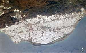 mar de plástico, almería - invernaderos