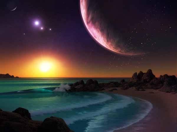Resultado de imagen de Extraños mundos extraterrestres
