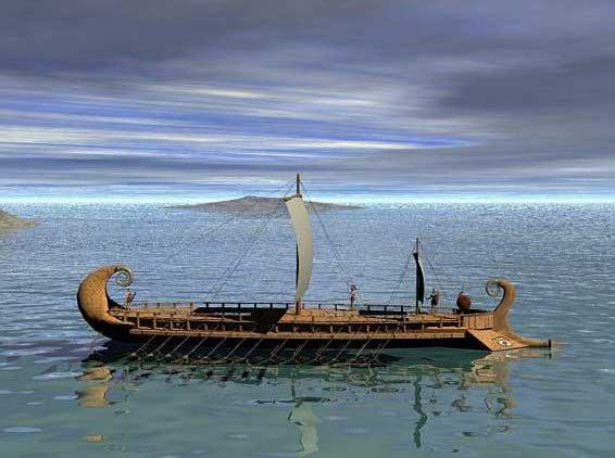 barco griego, viaje de Piteas