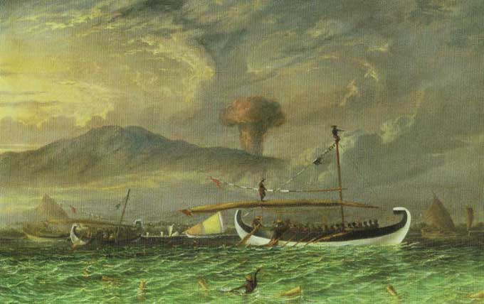 Resultado de imagen de erupción del Tambora