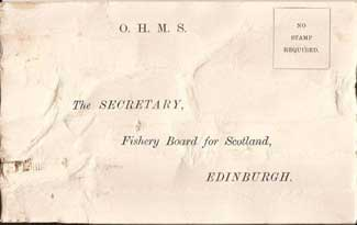 mensaje en una botella de 1914 en Escocia
