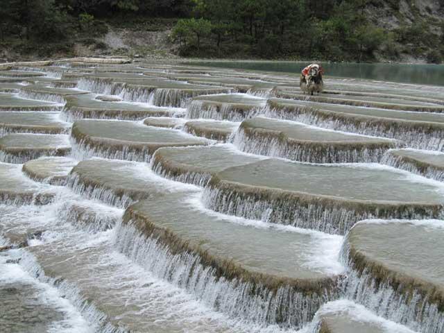 Las Terrazas De Agua Blanca De Shangri La China Vista Al Mar
