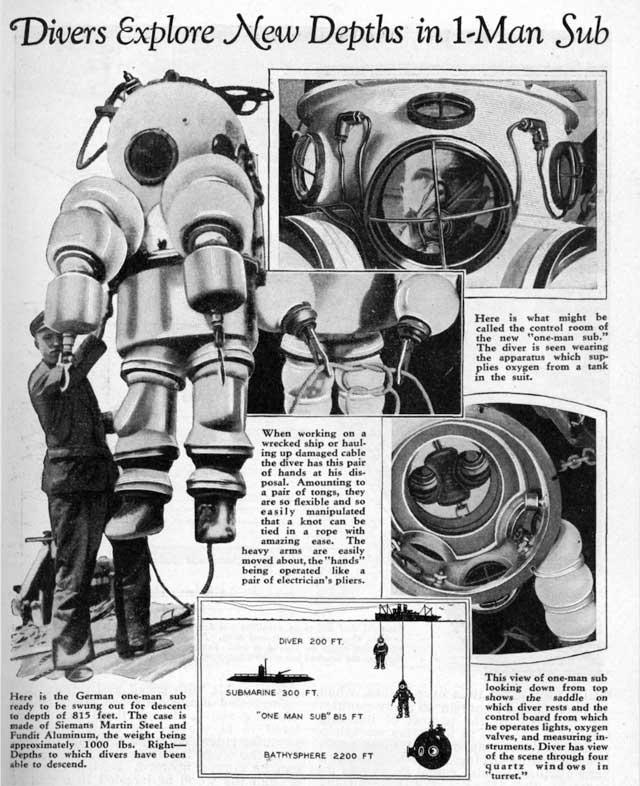 1 Sub-Man, 1933