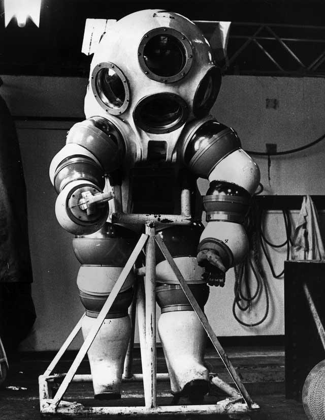 traje de buceo atmosférico