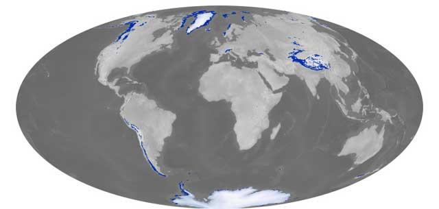Primer Catálogo Global De Los Glaciares Vista Al Mar Peñíscola