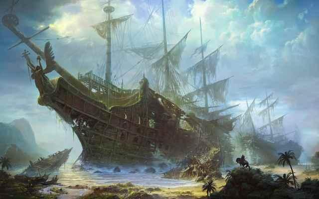6 inquietantes cuentos de barcos fantasma