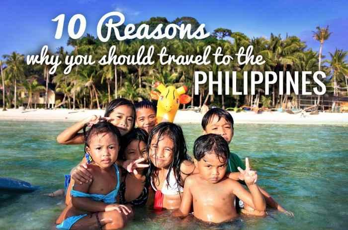 Es más divertido en Filipinas, 10 razones para viajar