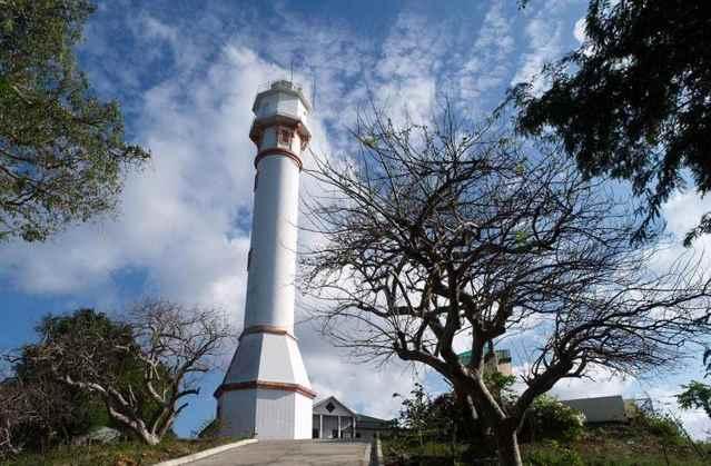 El Faro del Cabo Bolinao, Filipinas