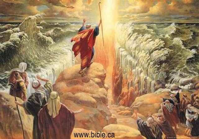 Cómo pudo Moisés separar las aguas del Mar Rojo