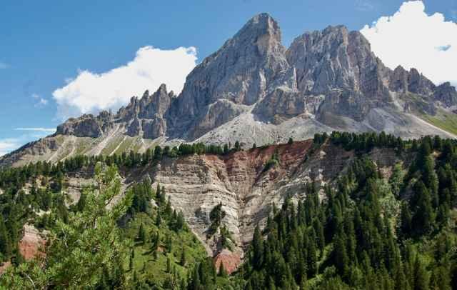 Sass de Putia en los Alpes