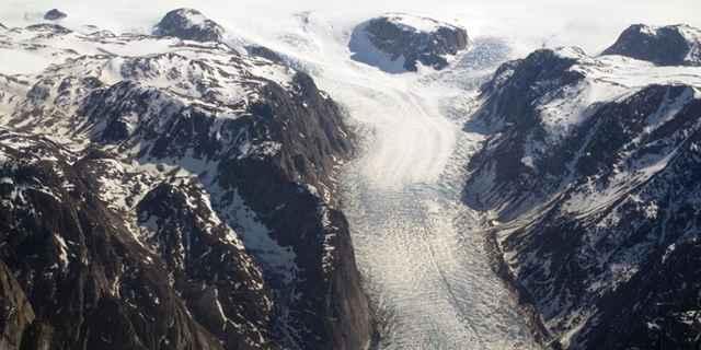 glaciar Kangerlussuaq, Groenlandia